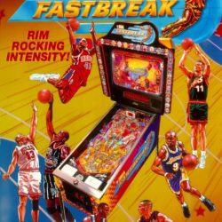 NBA Fastbreak Pinball Classic - Brooklyn