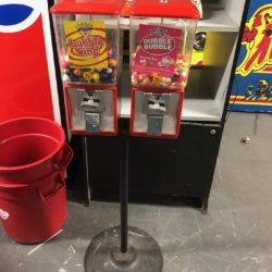Double Candy Machine (Red) for Rental/ Sale/ Props (Bubble King) (Dubble Bubble) NY/ NJ/ CT/ MA