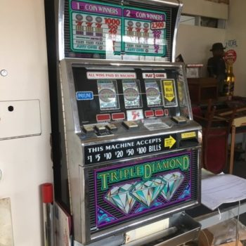 Slot Machine Prop Rental - Triple Diamond