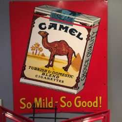 Camel-Turkish-Domestic-Blend-Cigarette-Prop-Sign-Rental - NYC