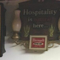 Hospitality Prop House Sign Rental/ Sale - NY