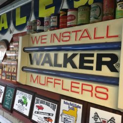 We Install Walker Mufflers Prop House Sign - NYC