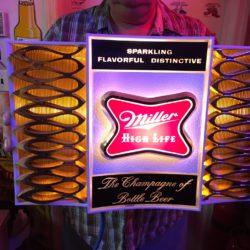 Miller Beer Classic Sign Prop House Rental - Manhattan/ Brooklyn