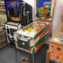 Vintage pinball machine for film/ prop/ rental NY/NYC/MA/CT