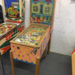 Vintage pinball Film prop rental Brooklyn/ BK/ NY/ NYC