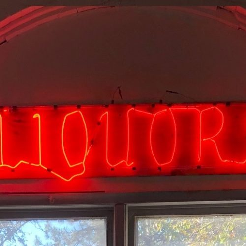Liqours LED Red light Prop House Rental - NYC