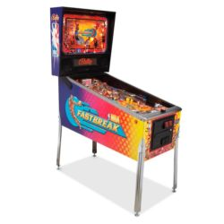 NBA Fastbreak Pinball NY/ NJ/ MA/ CT (Bally)