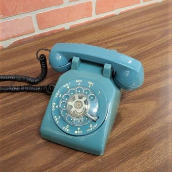 Prop house nyc blue rotory phone