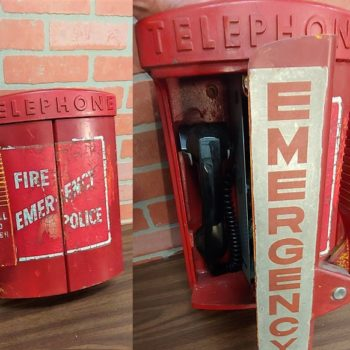 vintage emergency phone New York/ny prop rentals