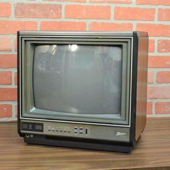 ny Zenith vintage televison prop rental