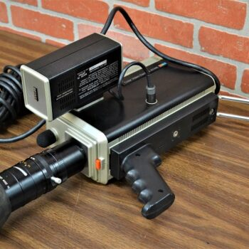 Vintage video camcorder profesional grade prop rental New York prop house