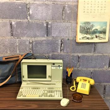 computer vintage laptop New York prop rentals
