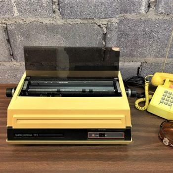 Vintage large printer Prop house Brooklyn