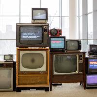 vintage 80s party prop rentals TVs