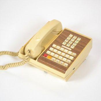 Beige telephone