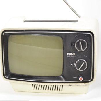 RCA white tv