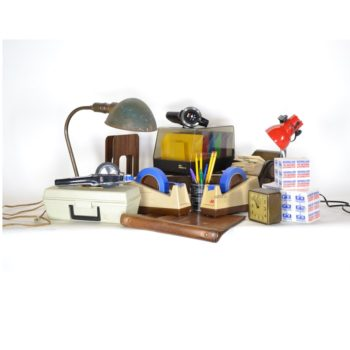 computer office accessories prop house rentals NYC