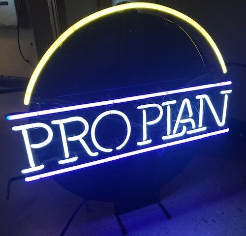 proplan neon sign prop rental