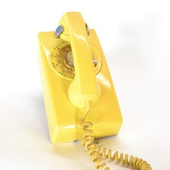 slim Yellow Telephone