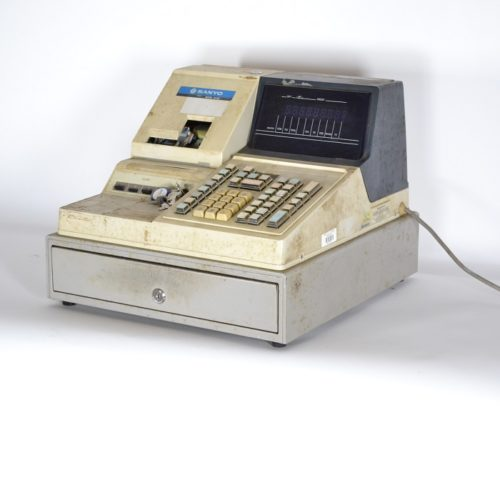 vintage cash register prop rental works