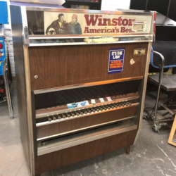 Winston cigarette machine prop rental