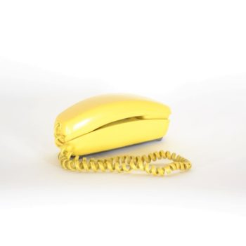 yellow phone prop rental