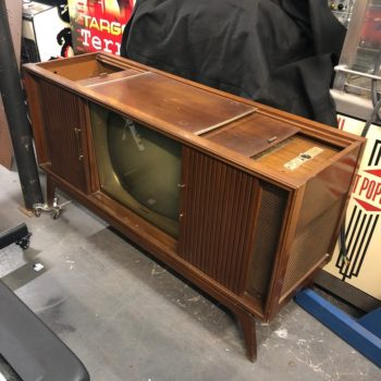 nyc tv console prop rental