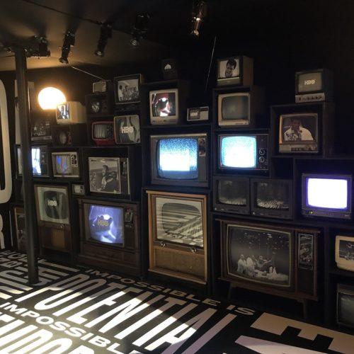 vintage TV WALL PROP RENTAL HBO NEW YORK tv rentals