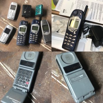 vintage cell phone prop rentals ny