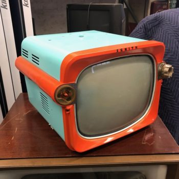 1950s Zenith TV & Film prop house rental
