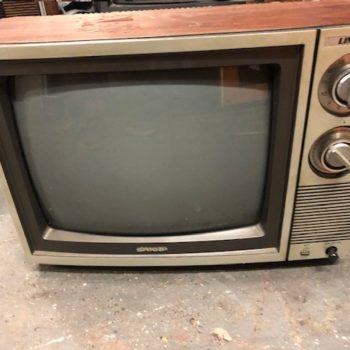 SHARP Linytron 70S RETRO TV PROP RENTAL NEW YORK CITY