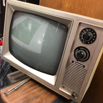Samsung NY CITY PROP HOUSE VINTAGE TV PROPS