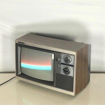 Magnavox vintage 70s television props