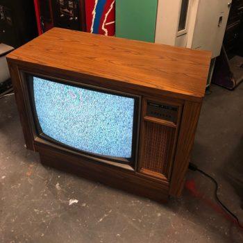 vintage console television tv prop rentals ny