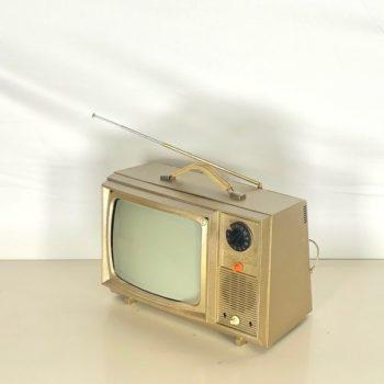 vintage tv prop rentals ny gold!