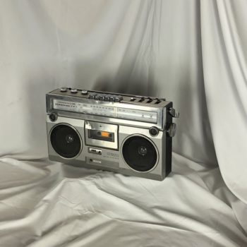 Vintage Classic boombox prop rental | prop house collection NY | CT | MA