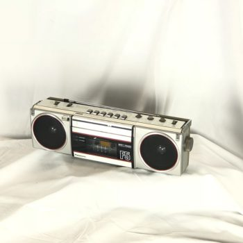 Panasonic Vintage Classic boombox prop rental | prop house | theme collection NY | CT | MA