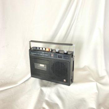Sankyo Classic Cassette Corder (black) Prop House NY | CT Rentals
