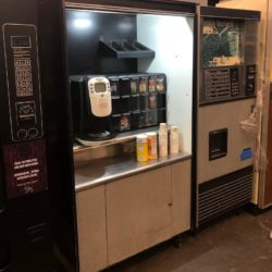 coffee concession break room prop rentals new york ny