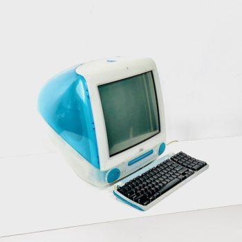 VINTAGE APPLE IMAC COMPUTER PROPS - AQUA