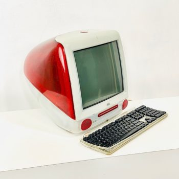 apple imac prop red