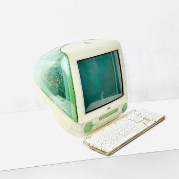 vintage apple imac computer prop nyc - slate
