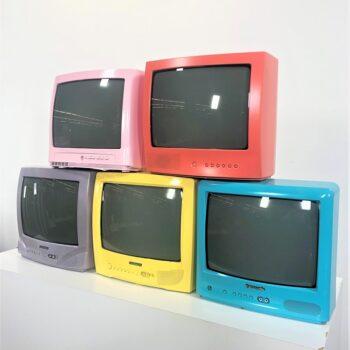 TV WALL 80S PARTY PROP RENTALS