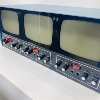 SETCHELL CARLSON TV CONTROL ROOM CRT MONITOR PROP