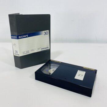 sony betacam VHS tape prop