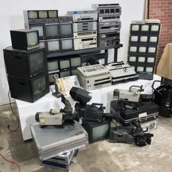 tv studio vintage control room prop rentals