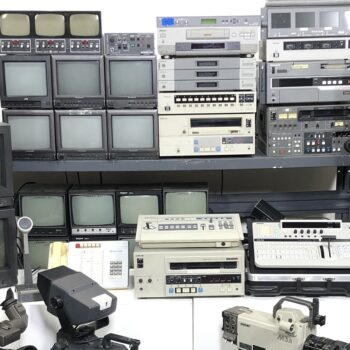 tv studio vintage control room props-2