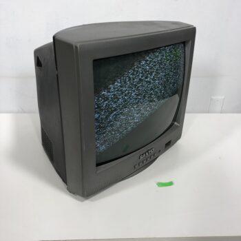 13 INCH 1990S SANYO TV PROP RENTAL NY