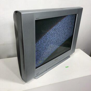2000S SONY TRINTITRON FLAT SCREEN CRT VINTAGE TV PROP RENTAL