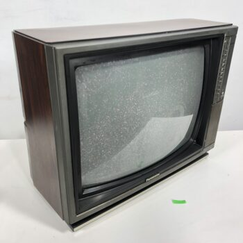 80S PUSH BUTTON TV PROP RENTAL PANASONIC